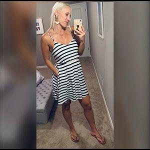 LC Lauren Conrad Striped Dress